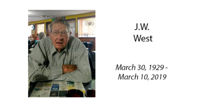 J.W. West