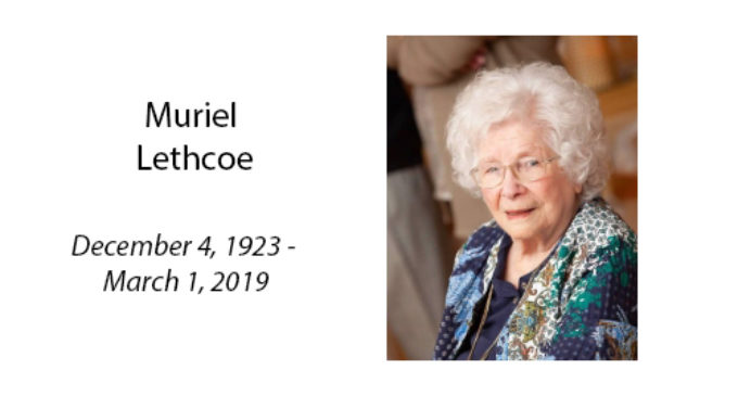 Muriel Lethcoe