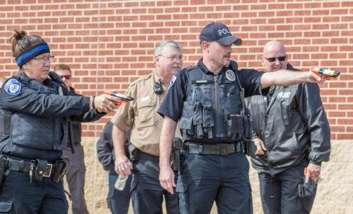 Breckenridge Police add high-powered pepper spray guns to gear