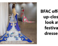 BFAC offers up-close look at festival dresses
