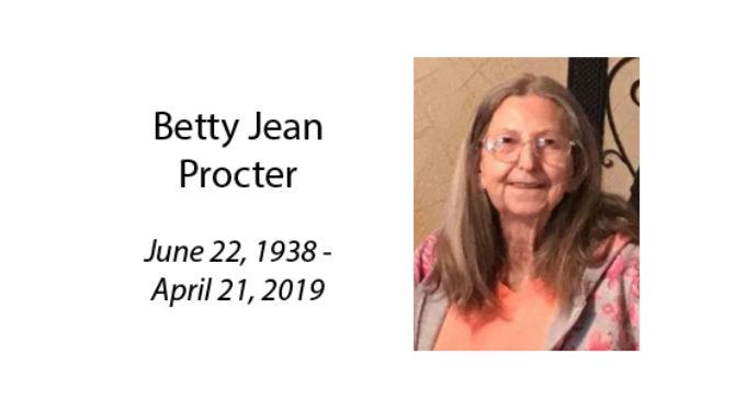 Betty Jean Procter