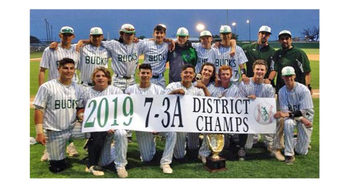 Buckaroo baseball team clinches district championship