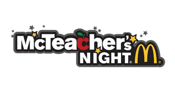 Tuesday's McTeacher Night to benefit North Elementary