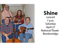Shine to perform at National Theatre on April 27