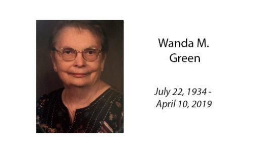 Wanda M. Green