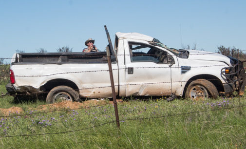 One person dies in one-vehicle rollover on U.S. 183 North