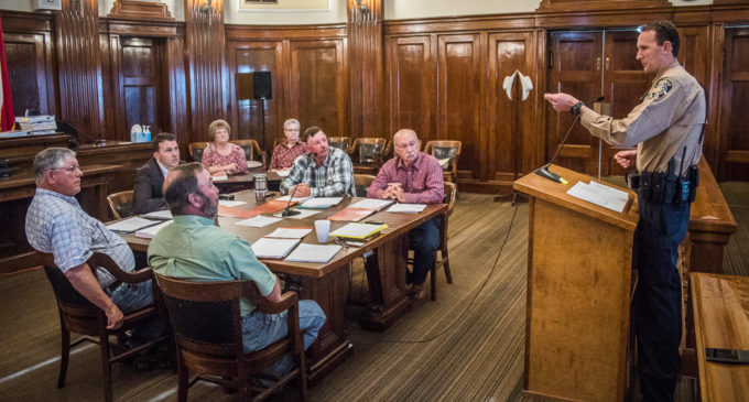 County commissioners approve salary increase for jail administrator