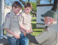 Hash brothers earn Boy Scout awards