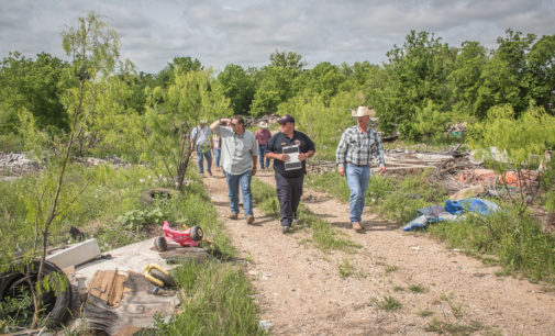 City, county team up with West Central Texas Council of Governments on dumpsite cleanup