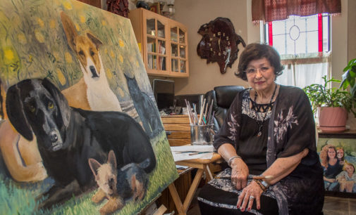For artist Tonya Holmes Shook, painting is a passion she must pursue