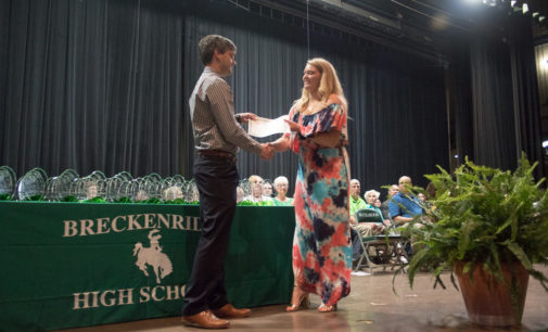 Scholarships, awards presented at annual BHS ceremony on Thursday
