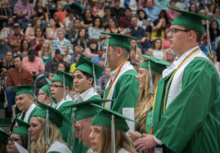 Breckenridge High School Class of 2019 Graduation