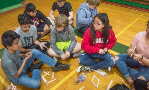 Local seventh graders tackle STEM projects
