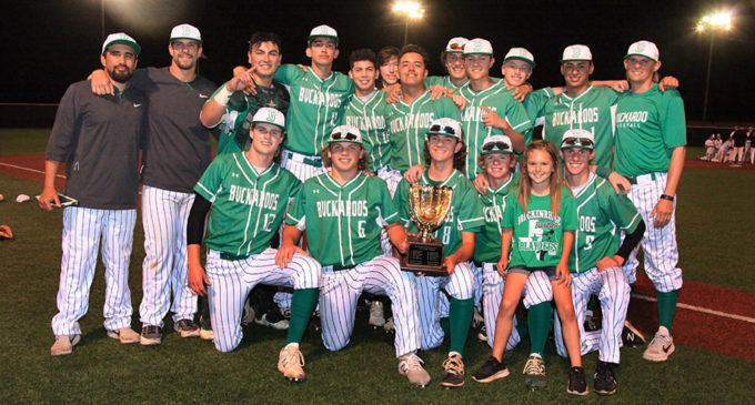 Buckaroos to take on Anson Tigers for baseball Area Championship