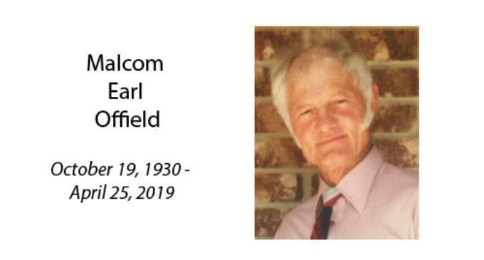 Malcom Earl Offield
