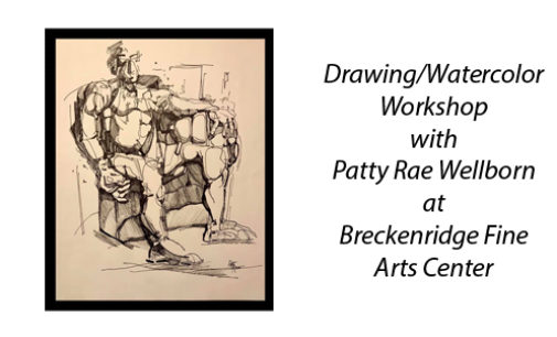 Patty Rae Wellborn to teach drawing/watercolor class on Friday, May 24