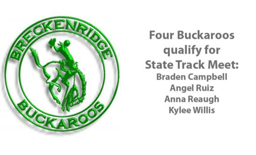 Four BHS athletes qualify for State Track Meet next week in Austin