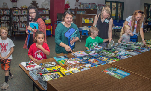 North and East Elementary schools provide students with books for summer reading