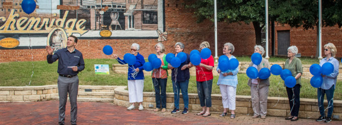 Child Welfare Board launches balloons in honor of local foster kids