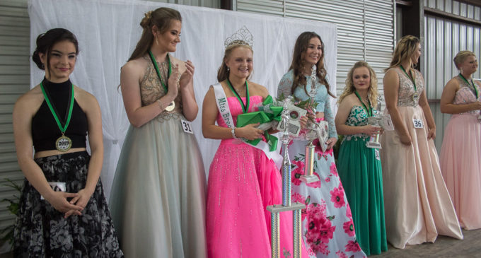 Brittney Melton crowned Miss Breckenridge at Friday night's pageant