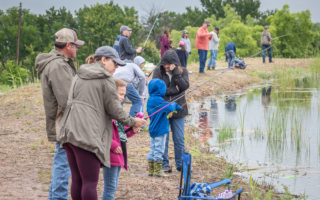 Kids fishing day provides fun at the Frog Pond