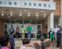 State-bound track athletes leave for Austin following pep rally, send-off