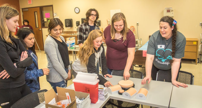 BHS seniors get hands-on look at TSTC's technical programs