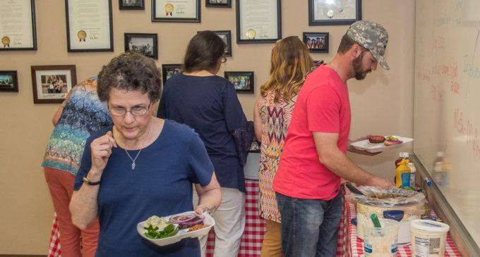 TSTC celebrates National Hamburger Day