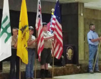Elks Lodge hosts flag ceremony with local Boy Scouts, VFW Post