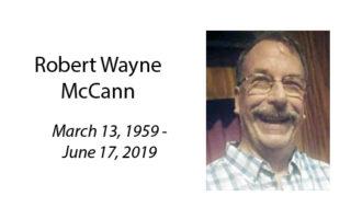 Robert Wayne McCann