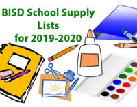 BISD releases school supply lists for 2019-2020 academic year