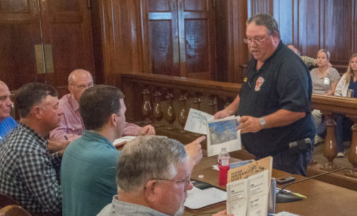 City of Breckenridge, Stephens County plan for potential flooding