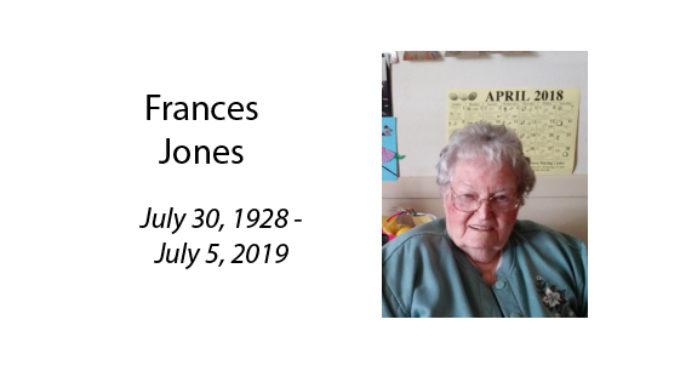 Frances Jones