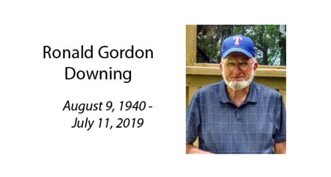 Ronald Gordon Downing