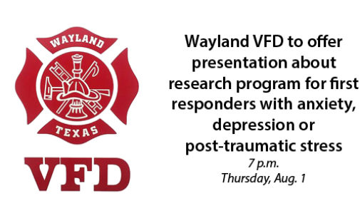 Wayland VFD to offer informational program on research study for first responders