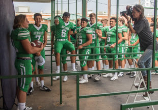 Buckaroo Football Picture Day