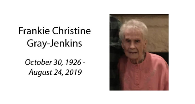 Frankie Christine Gray Jenkins