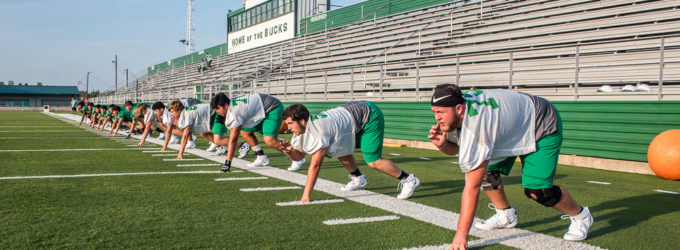 Buckaroos prepare for tough season, set goals on playoffs