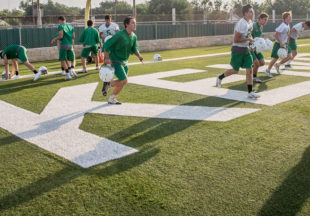 Buckaroos kick off 2019 football practice season