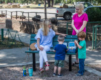 City installs new benches in playground area at city park
