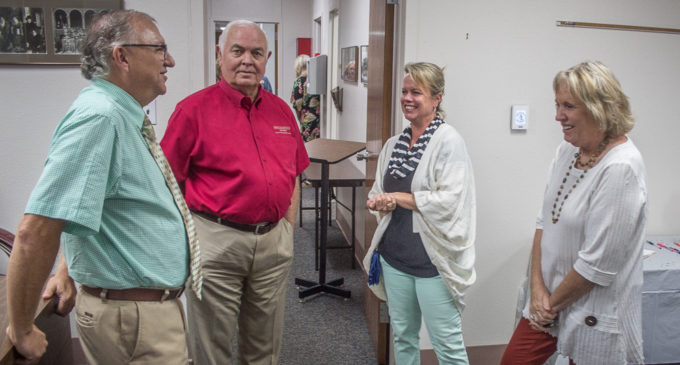 Community honors Seymore with retirement reception