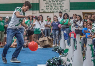 Pep Rally honors first-responders, military and veterans