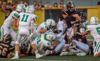 Despite improving physical side of the game, Buckaroos lose to Loboes
