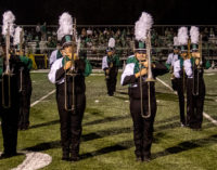 Buckaroo Band shows off new uniforms in Friday's halftime show