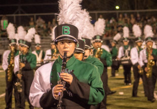 BHS Band sports new uniforms during Friday night's football game
