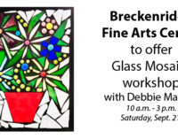 BFAC to offer glass mosaics workshop on Saturday