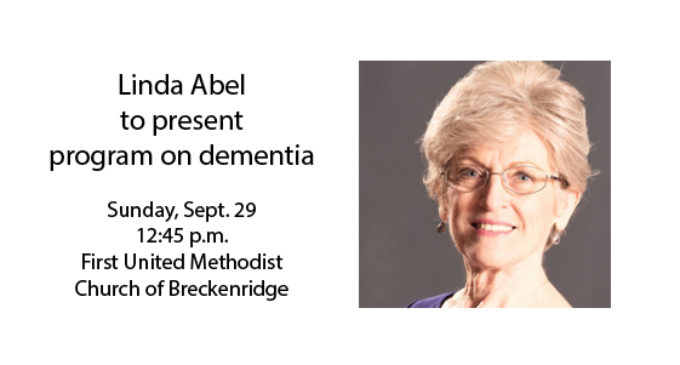 Linda Abel to present program on dementia on Sunday