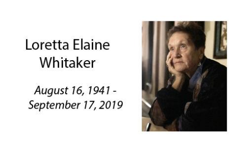 Loretta Elaine Whitaker