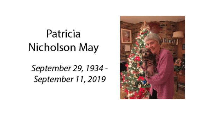 Patricia Nicholson May