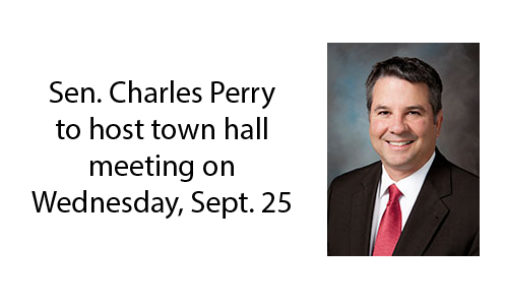 Sen. Charles Perry to host town hall meeting on Wednesday